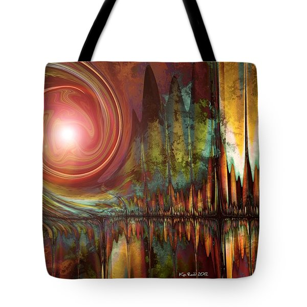 Urban Legend Tote Bag by Kim Redd