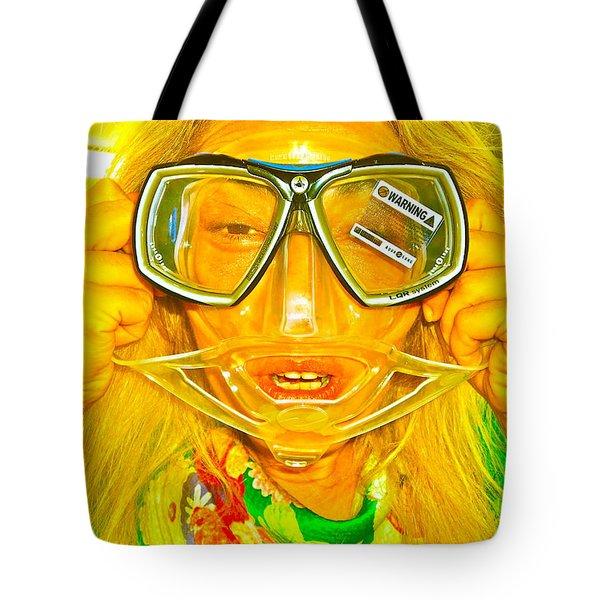 Urban Mermaid  Tote Bag