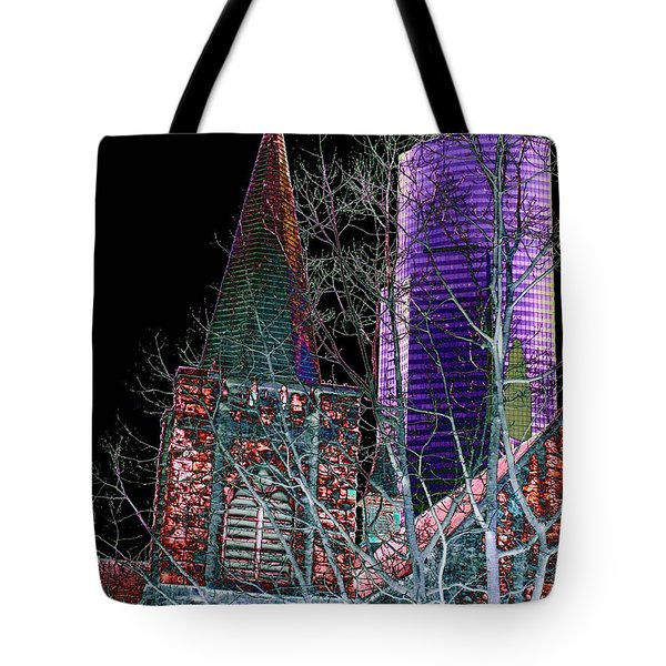 Urban Ministry Tote Bag by Tim Allen
