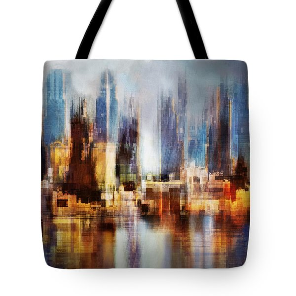 Urban Morning II Tote Bag