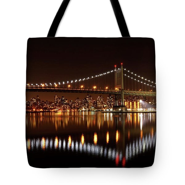 Triboro Bridge Brilliance Tote Bag