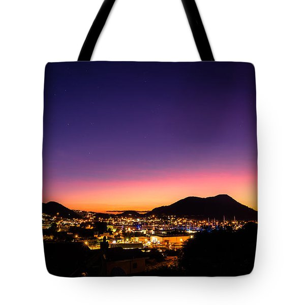 Urban Nights Tote Bag