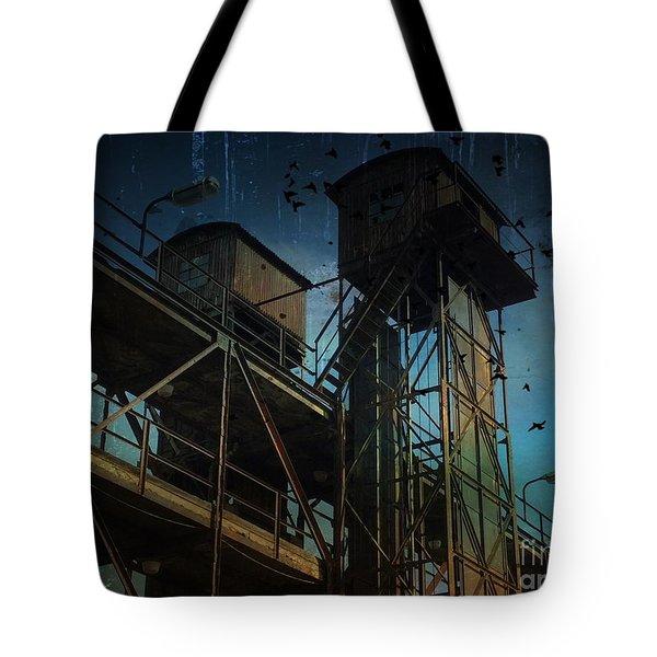 Urban Past Tote Bag