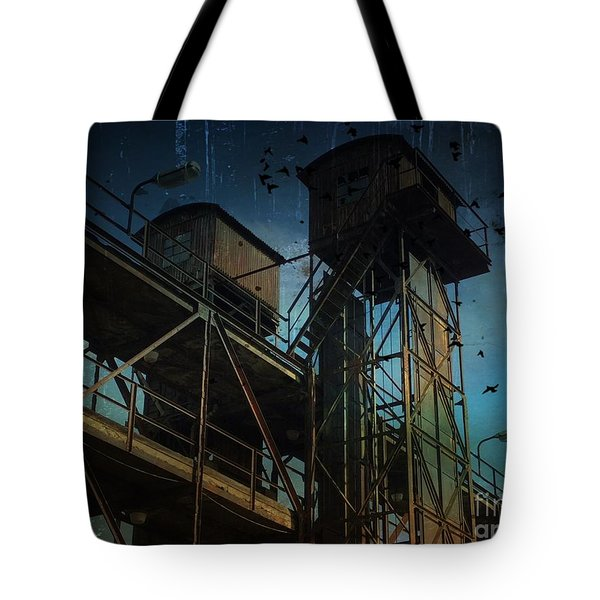 Tote Bag featuring the photograph Urban Past by Ivana Westin