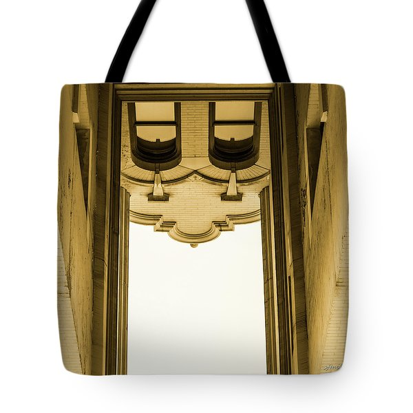 Urban Portals - Architectural Abstracts Tote Bag