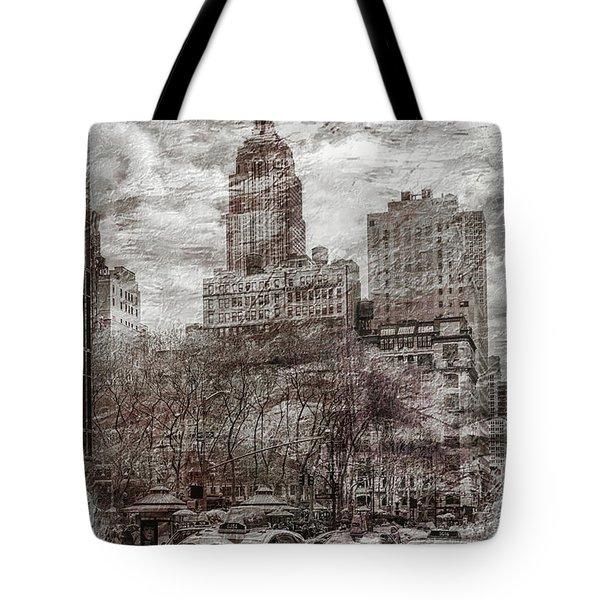 Urban Rush Tote Bag