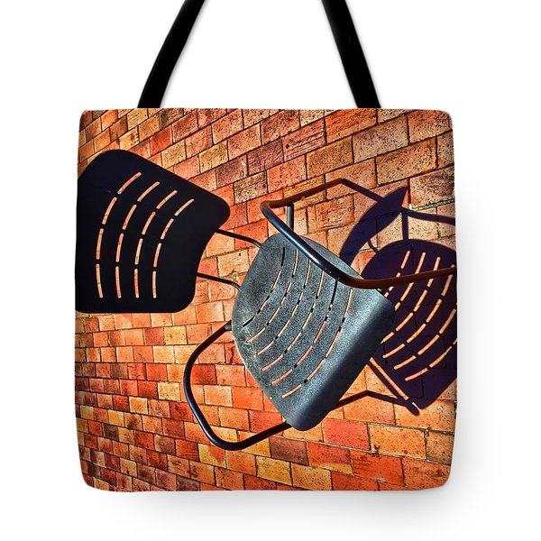 Urban Seating  Tote Bag