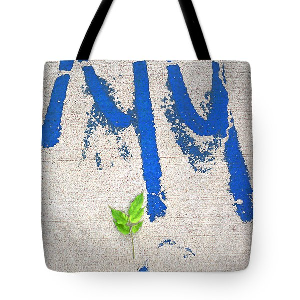 Tote Bag featuring the photograph Urban Sidewalk Still Life by Suzanne Powers