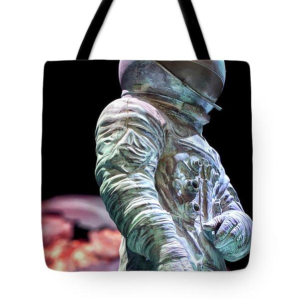 Urban Spaceman Tote Bag
