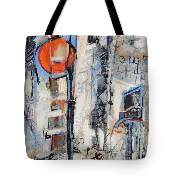 Urban Street 1 Tote Bag by Mary Schiros