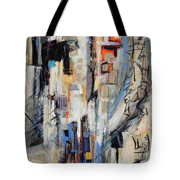 Urban Street 2 Tote Bag by Mary Schiros