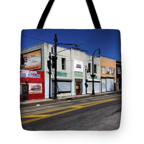 Urban Street Life Tote Bag