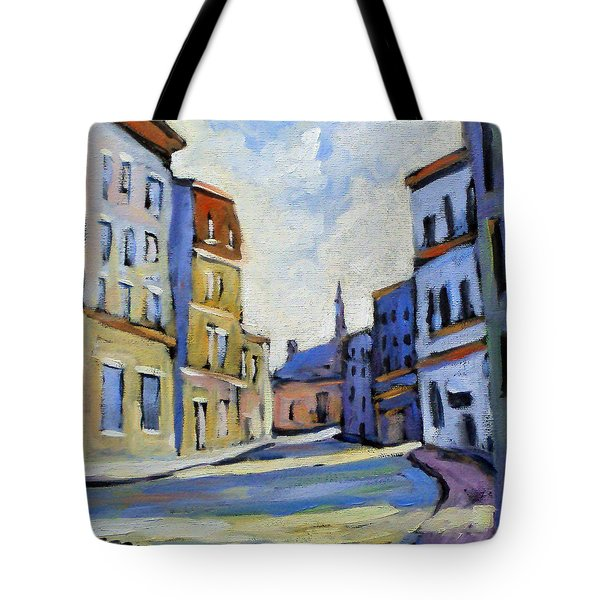 Urban Streets Tote Bag by Richard T Pranke