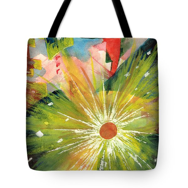 Urban Sunburst Tote Bag