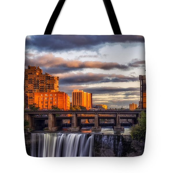 Urban Waterfall Tote Bag by Mark Papke