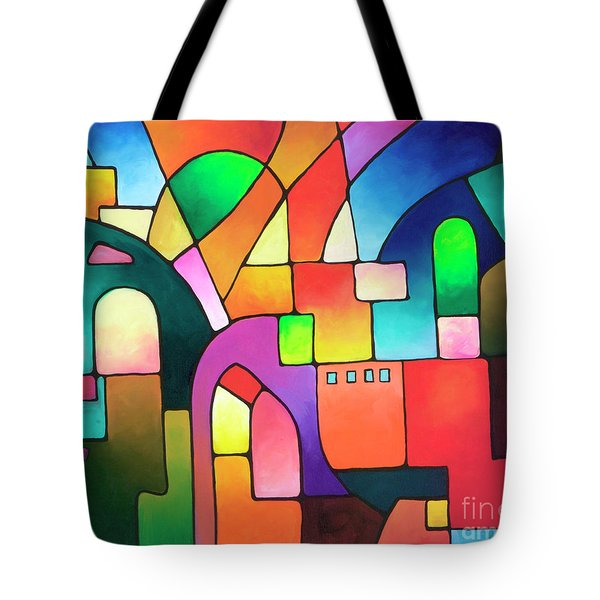 Urbanity Tote Bag by Sally Trace
