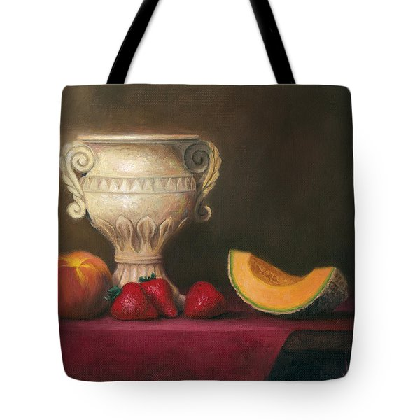 Urn With Fruit Tote Bag