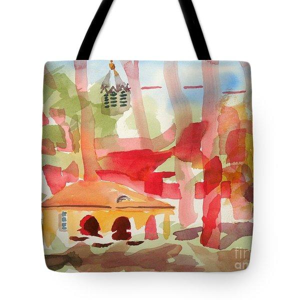 Ursuline Impressions Tote Bag by Kip DeVore