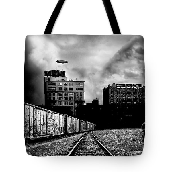 Us And Them Tote Bag by Bob Orsillo