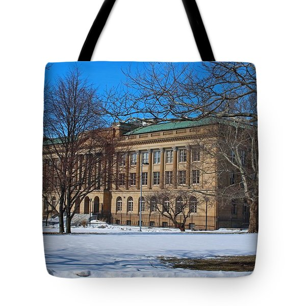 Us Court House And Custom House Tote Bag