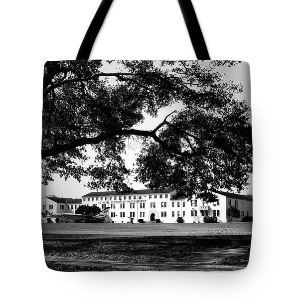 Us Naval Schools Of Photography Building 1500 Tote Bag