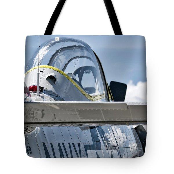 U.s. Navy T-28 Trojan  Tote Bag