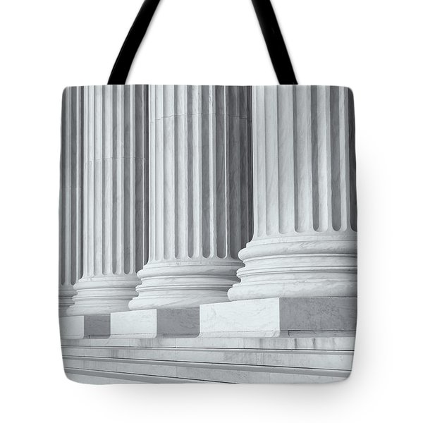Us Supreme Court Building Iv Tote Bag
