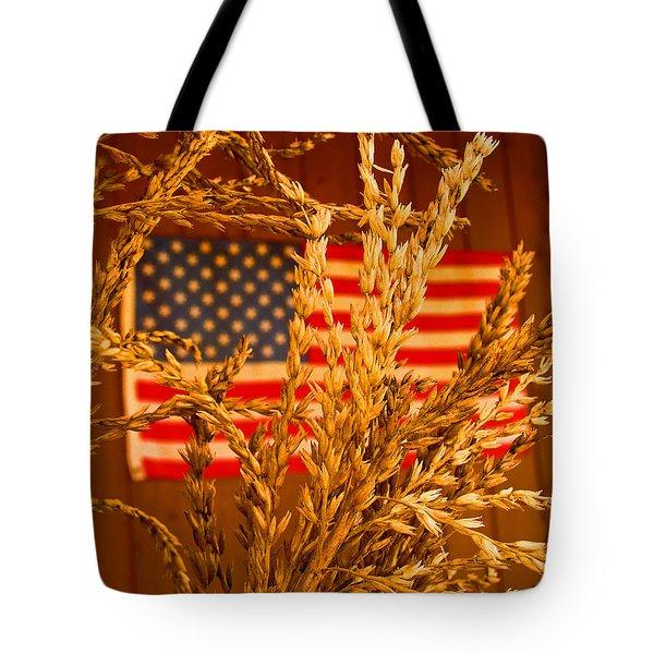 U.s. Wheat Tote Bag
