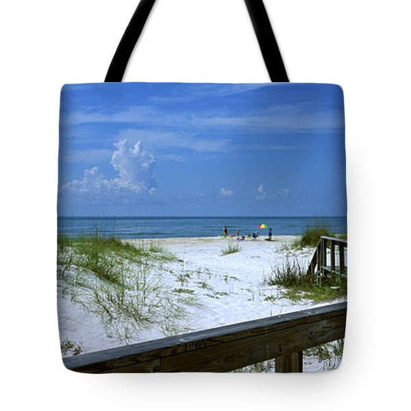Usa, Florida, Gulf Of Mexico, St Tote Bag