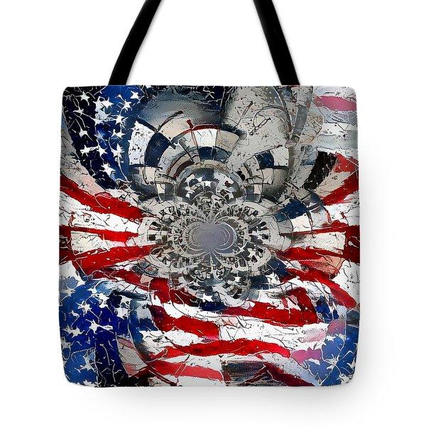 Usa Patriot Tote Bag