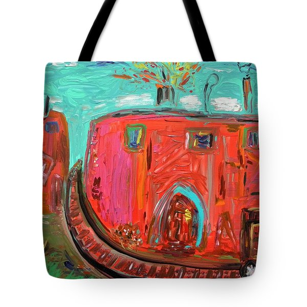 Usa Steel Still Fascinates Tote Bag by Mary Carol Williams