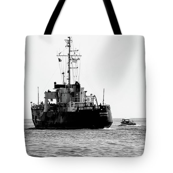 White Portugeuse Tote Bag