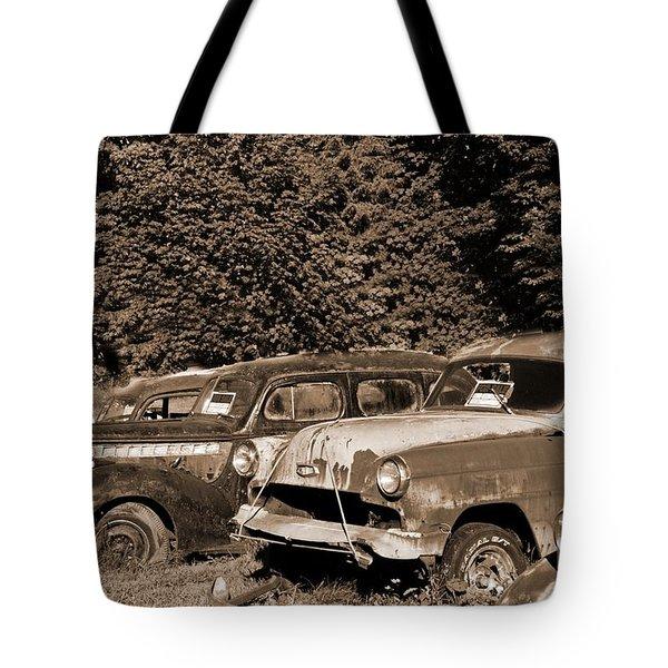 Used Car Values Tote Bag