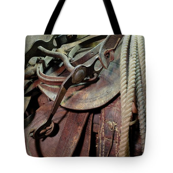 Used Up Tote Bag by Scott Kingery