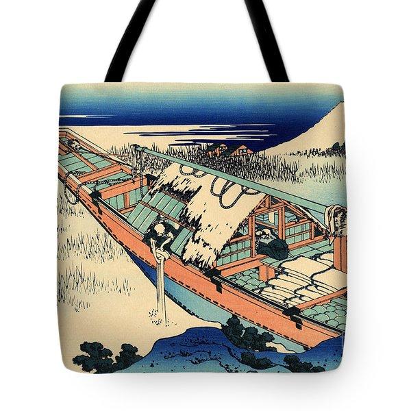 Ushibori In The Hitachi Province Tote Bag