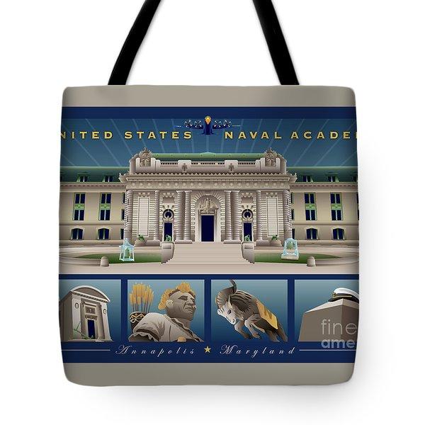 Usna Monuments Tribute 2 Tote Bag
