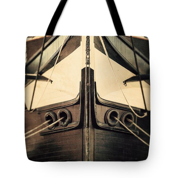 Uss Constellation Tote Bag by Lisa Russo
