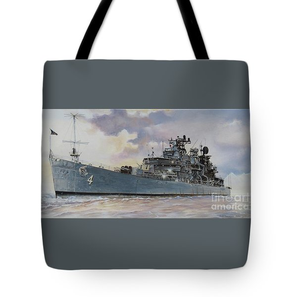 Uss Little Rock Tote Bag