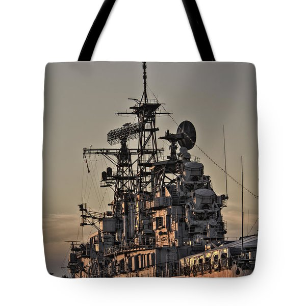 U.s.s Little Rock Tote Bag