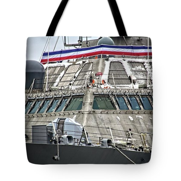 Uss Little Rock Lcs 9 Tote Bag