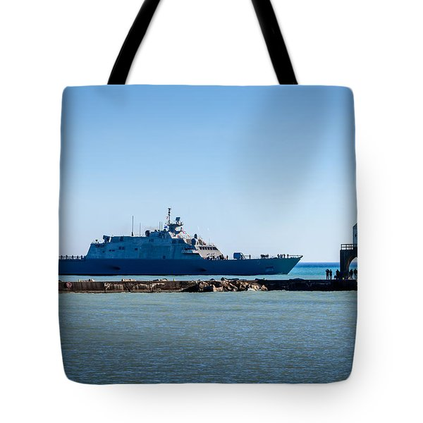 Uss Milwaukee Tote Bag