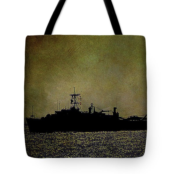 Uss Ponce Lpd-15 Tote Bag