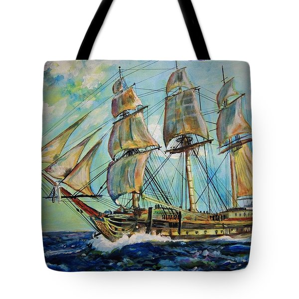 Uss United States Tote Bag