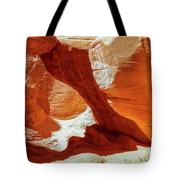 Tote Bag featuring the photograph Utah Arches by Jim Mathis
