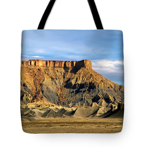 Utah Butte Tote Bag