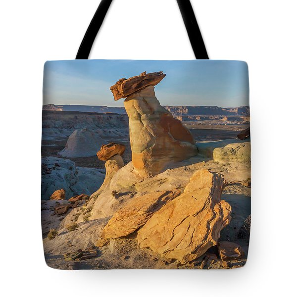 Utah Hoodoos At Sunset Tote Bag