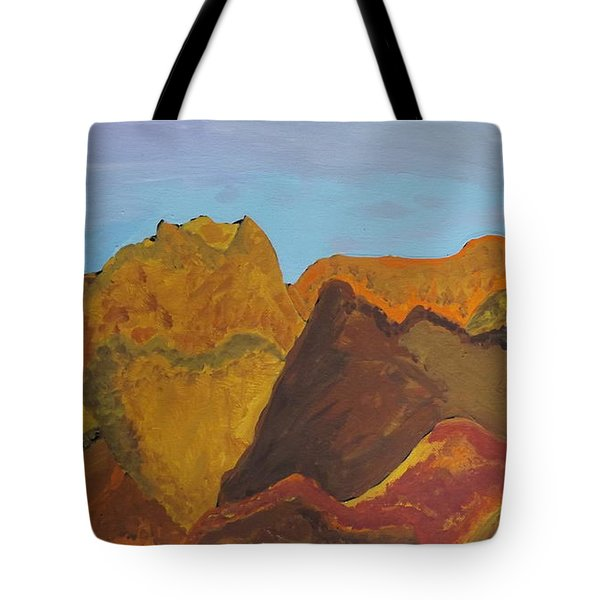 Utah Mountains Tote Bag