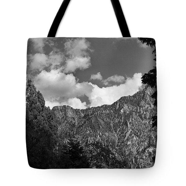 Utah Mountains Near Sun Valley  Tote Bag