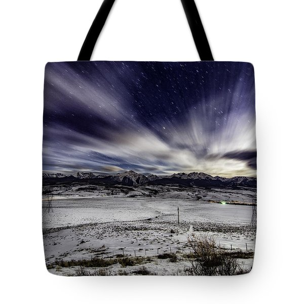 Tote Bag featuring the photograph Ute Pass by Bitter Buffalo Photography