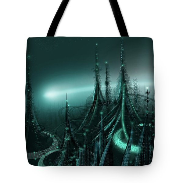 Utopia Tote Bag by James Christopher Hill